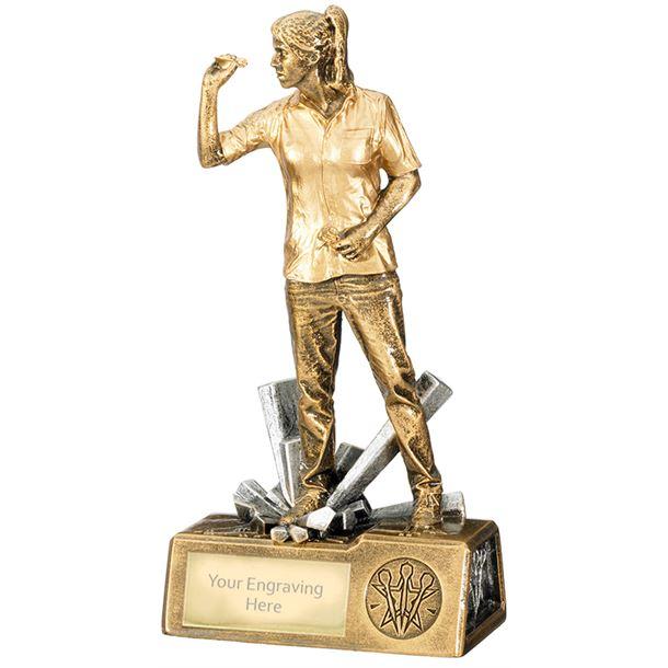"Female Darts Krypton Trophy 21.5cm (8.5"")"