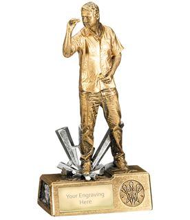 "Male Darts Krypton Trophy 21.5cm (8.5"")"