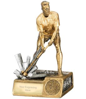 "Male Hockey Krypton Trophy 16cm (6.25"")"
