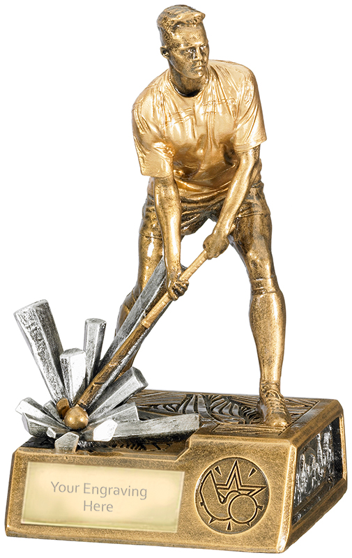 "Male Hockey Krypton Trophy 19cm (7.5"")"
