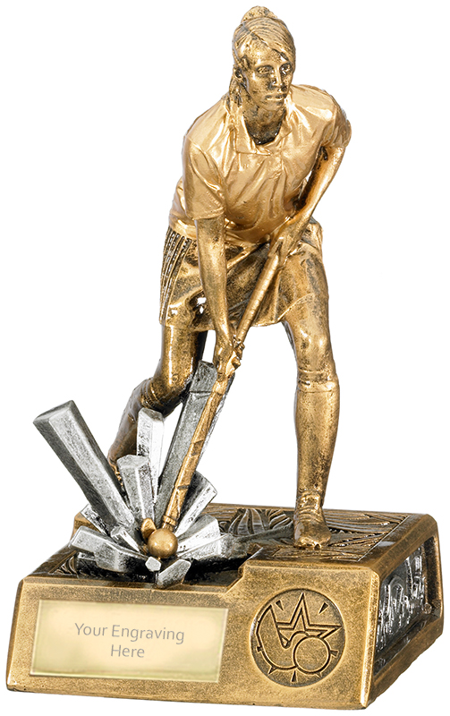 "Female Hockey Krypton Trophy 19cm (7.5"")"