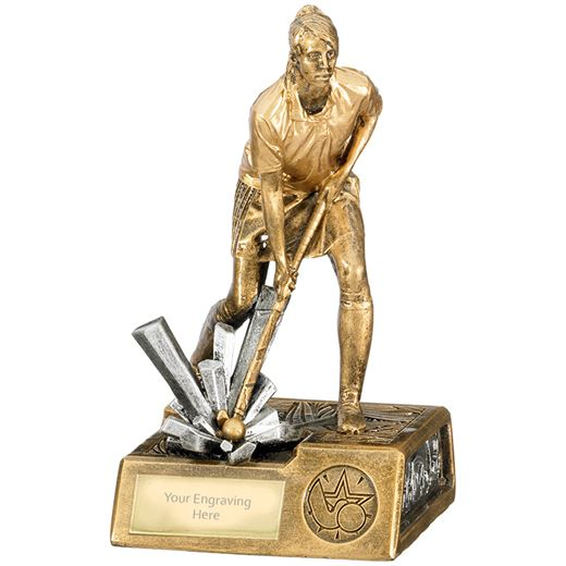 "Female Hockey Krypton Trophy 19cm (7.5"")"
