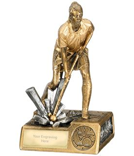 "Female Hockey Krypton Trophy 16cm (6.25"")"
