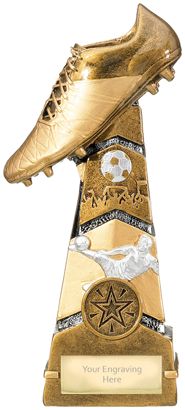 """Forza Football Boot Trophy 19.25cm (7.5"""")"""