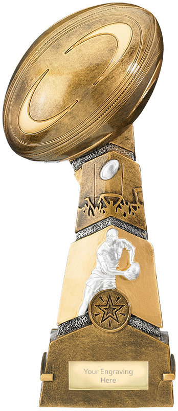 """Forza Rugby Trophy 27.5cm (11"""")"""