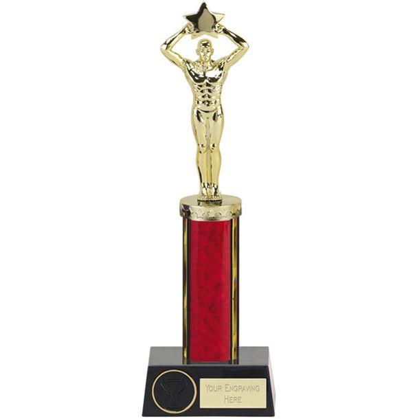 "Red Star Achievement Column Statue Award 28cm (11"")"