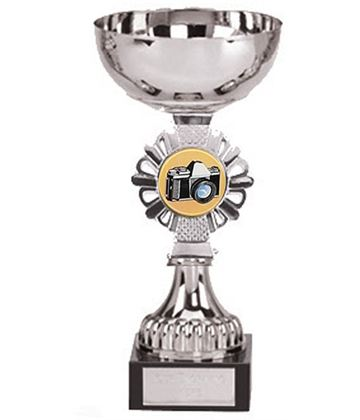 "Silver Photography Presentation Cup 16cm (6.25"")"