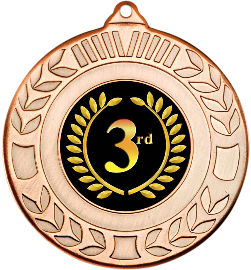 Pokal Emblem Motorsport 50 mm//bronze