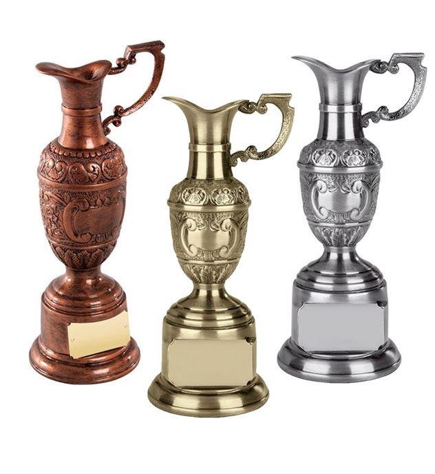 Claret Jug Golf Trophy Package