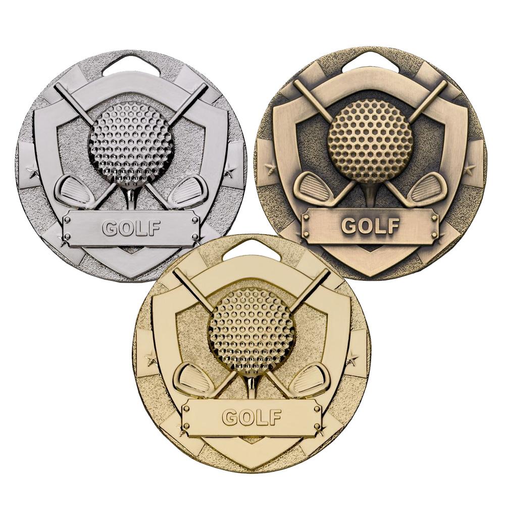 Mini Shield Golf Medal Package