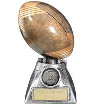 "Apex 3D Rugby Trophy 13cm (5.25"")"
