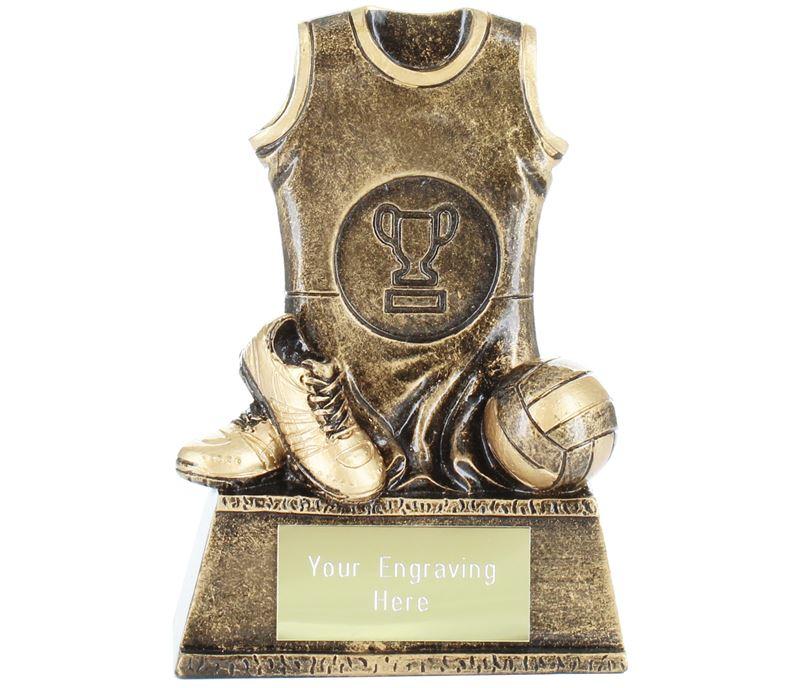 """Netball Kit Award 11.5cm (4.5"""")"""