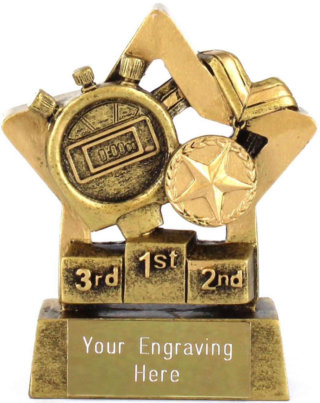 "Mini Stars Athletics Award 8.5cm (3.25"")"