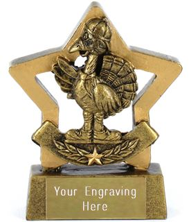 """Mini Stars Turkey Award 8.5cm (3.25"""")"""