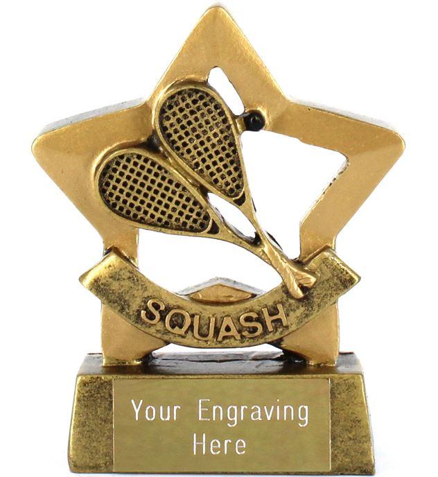 """Mini Stars Squash Award 8.5cm (3.25"""")"""