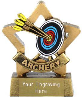 """Mini Stars Archery Award 8.5cm (3.25"""")"""
