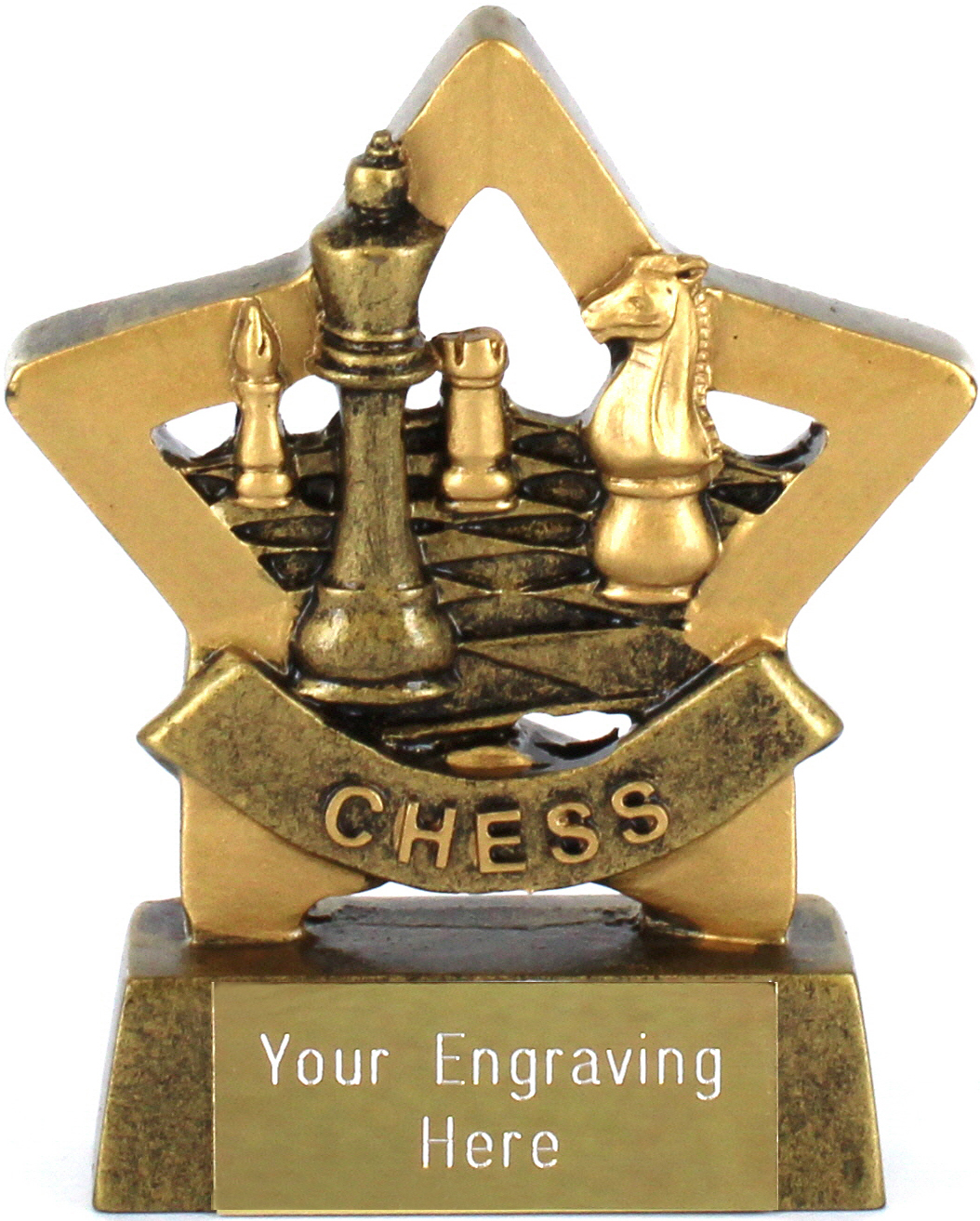 "Mini Stars Chess Award Trophy 8.5cm (3.25"")"