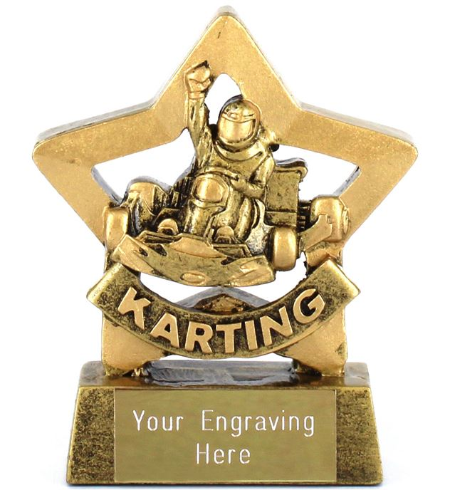 "Mini Stars Karting Award 8.5cm (3.25"")"