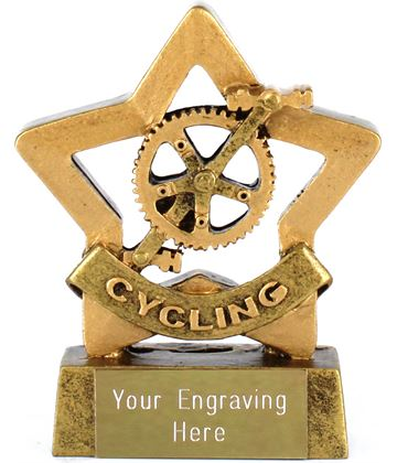 "Mini Stars Cycling Award 8.5cm (3.25"")"
