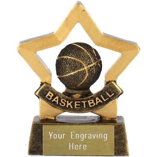 """Mini Stars Award Basketball 8.5cm (3.25"""")"""