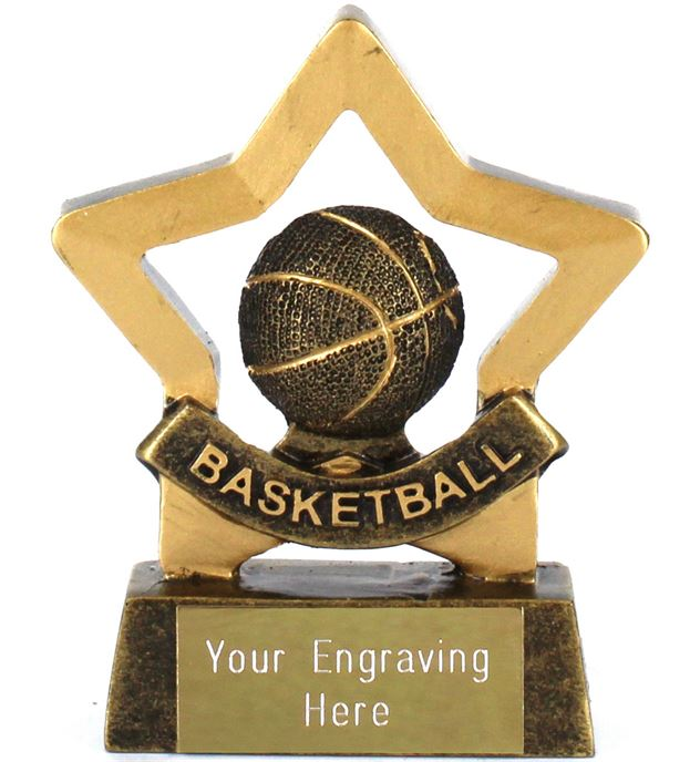 "Mini Stars Award Basketball 8.5cm (3.25"")"