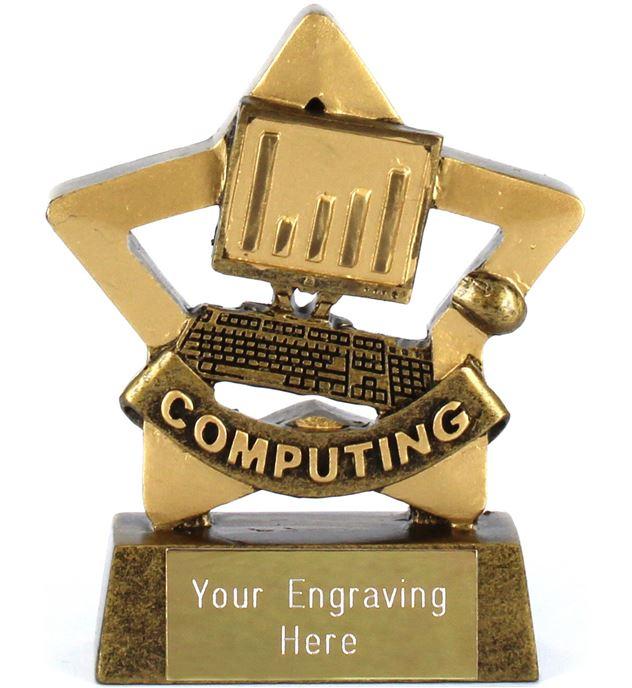 "Mini Stars Computing Award 8.5cm (3.25"")"