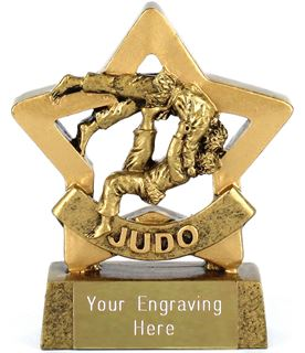 "Mini Stars Judo Award 8.5cm (3.25"")"