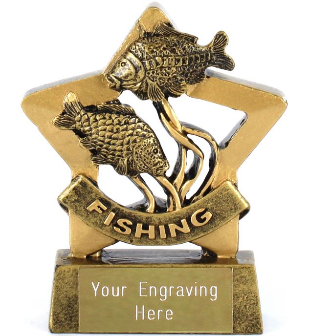 "Mini Stars Fishing Award 8.5cm (3.25"")"