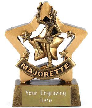 "Mini Stars Majorette Award 8.5cm (3.25"")"
