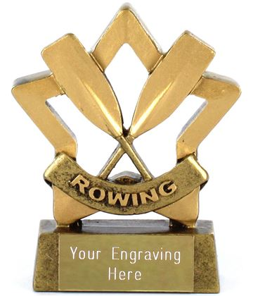 "Mini Stars Rowing Award 8.5cm (3.25"")"