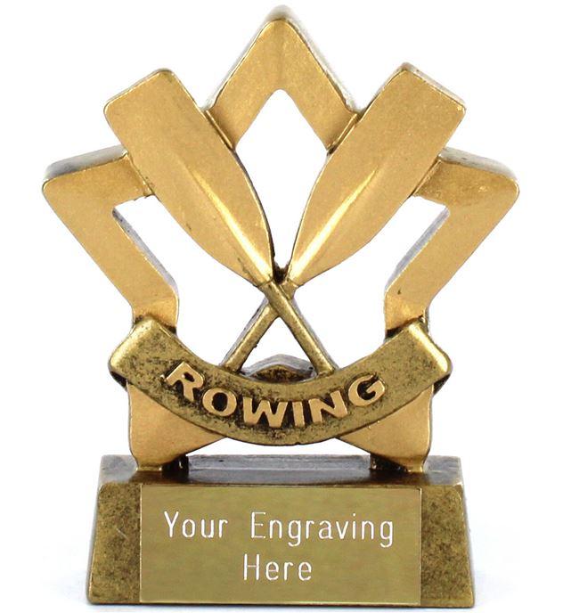"Mini Stars Rowing Award 8.5cm (3.25"")"