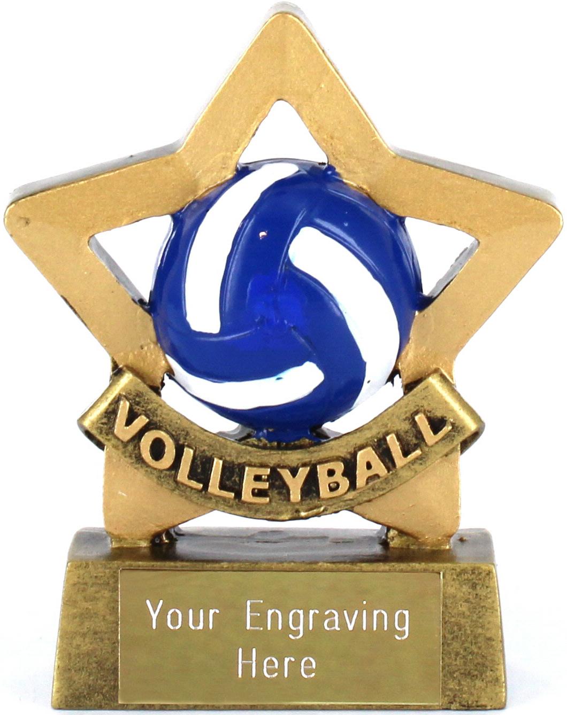 """Mini Stars Volleyball Award 8.5cm (3.25"""")"""