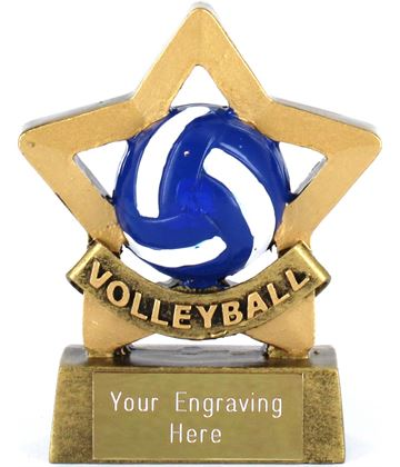 "Mini Stars Volleyball Award 8.5cm (3.25"")"