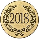 "Gold Metal 2018 1"" Centre Disc"