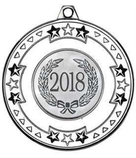 "2018 Silver Star & Pattern Medal 50mm (2"")"