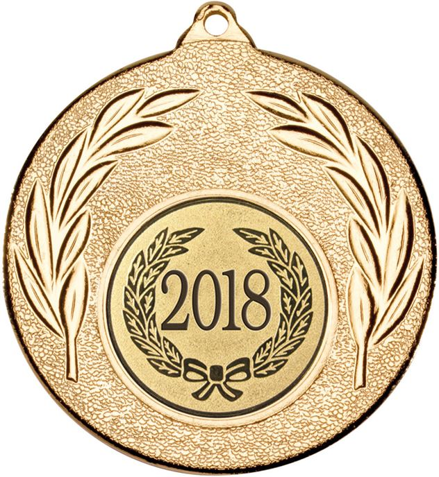 "2018 Gold Leaf Medal 50mm (2"")"