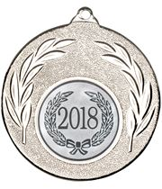 "2018 Silver Leaf Medal 50mm (2"")"