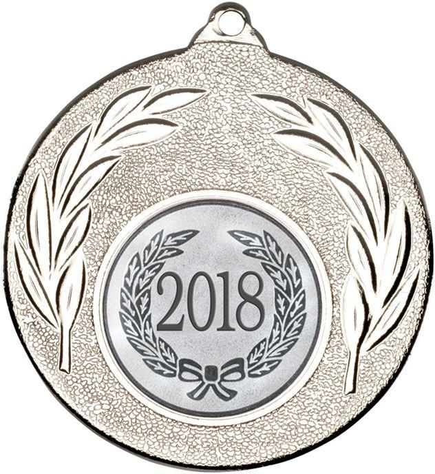 """2018 Silver Leaf Medal 50mm (2"""")"""