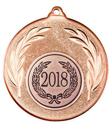 """2018 Bronze Leaf Medal 50mm (2"""")"""