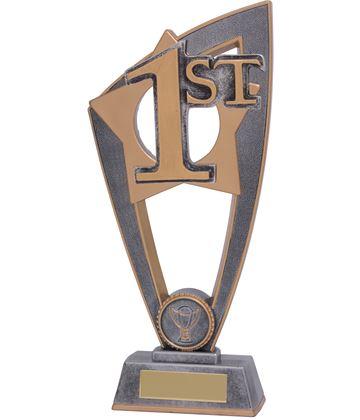 "1st Place Star Blast Trophy 23cm (9"")"