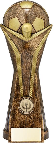 """World Football Cup Heavyweight Bronze Trophy 26cm (10.25"""")"""