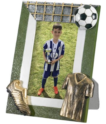 "Football Photo Frame 22cm x 18cm (6"" x 4"")"