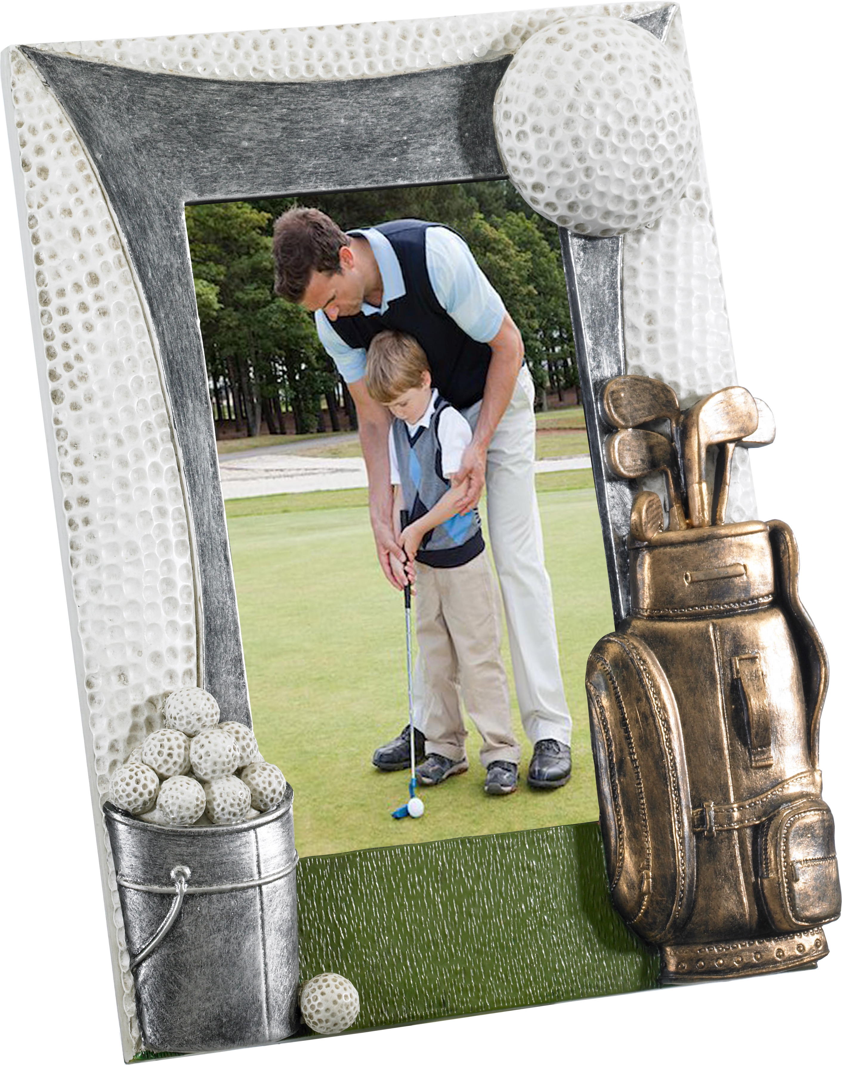 "Golf Photo Frame 22cm x 18cm (6"" x 4"")"
