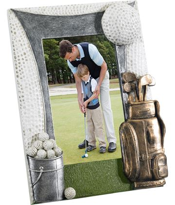 "Golf Photo Frame 22cm x 18cm (6"" x 4"")"