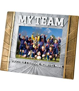 "Football 'My Team' Photo Frame 23cm x 17.5cm (6"" x 4"")"