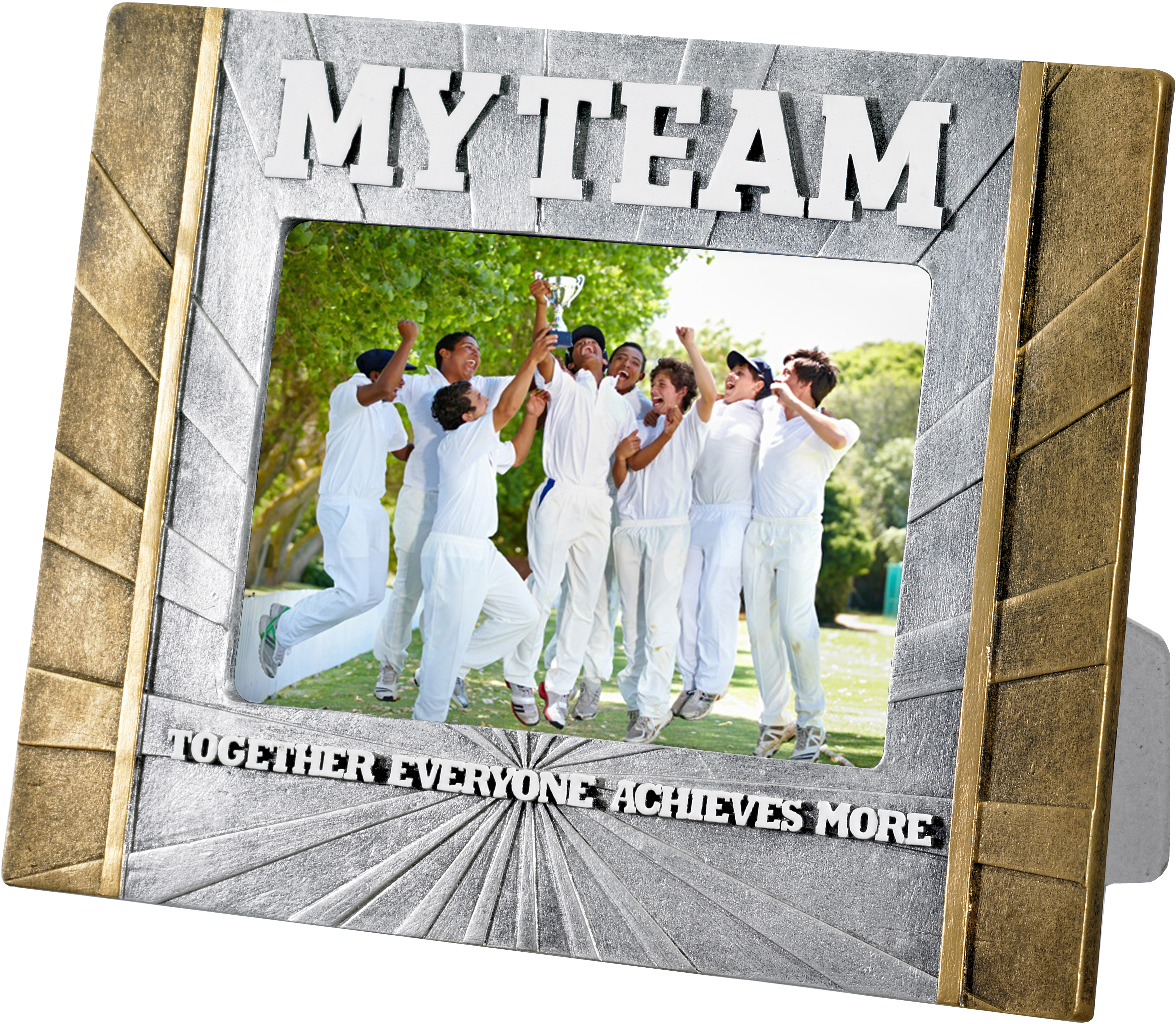 "Cricket 'My Team' Photo Frame 23cm x 17.5cm (6"" x 4"")"