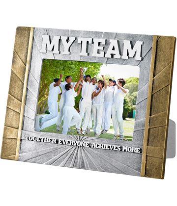 "Cricket 'My Team' Photo Frame 23cm x 17.5cm (6"" x 4"")"