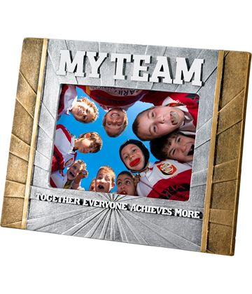 "Rugby 'My Team' Photo Frame 23cm x 17.5cm (6"" x 4"")"