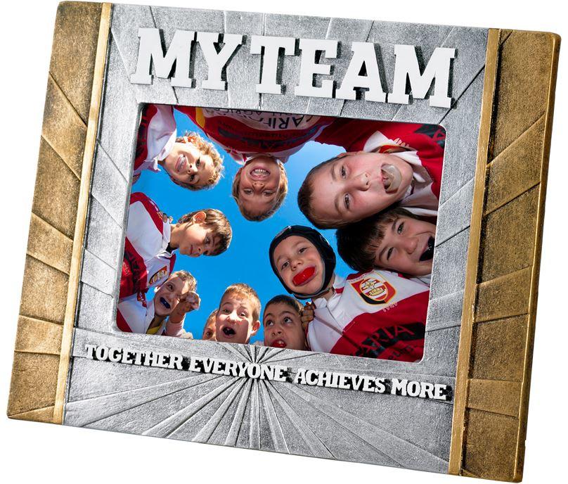 "Rugby 'My Team' Photo Frame 23cm x 17.5cm (6"" x 4"")"