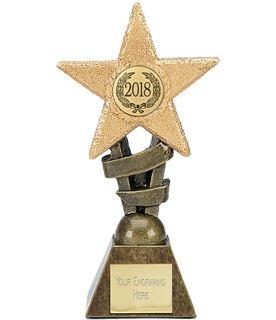 """2018 Multi Award Star Trophy 12cm (4.75"""")"""